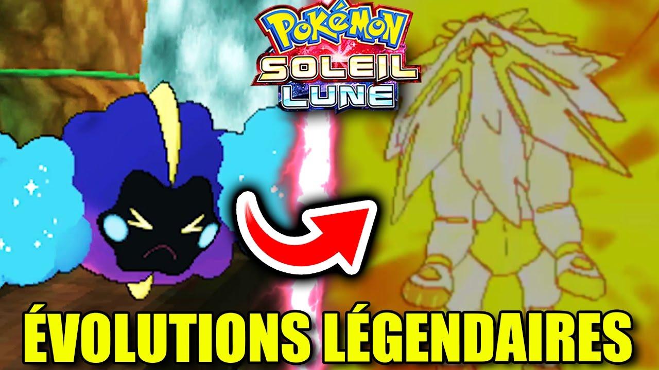 Les volutions des l gendaires de pokemon soleil et lune - Pokemon legendaire pokemon y ...