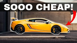 Top 5 Cheapest Supercars You Can Buy