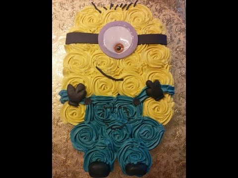 Dancey Cake Easy Minion Cupcake