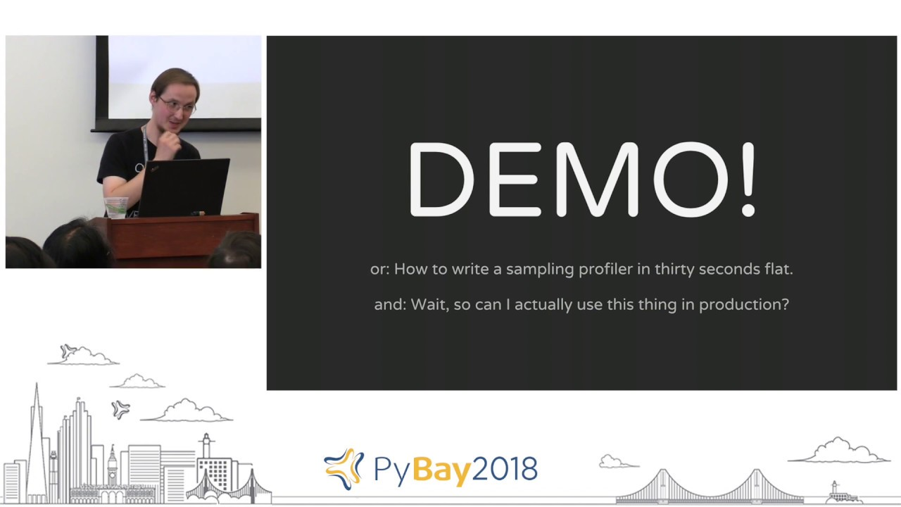 Image from Reproducible Performance - Profiling All the Code ... | Bartosz Wroblewski @ PyBay 2018