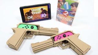 Cardbord DIY   1-2-SWITCH  NintendoLabo!?      1-2-スイッチで、任天堂ラボ!?
