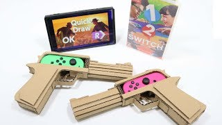Cardboard DIY   1-2-SWITCH  NintendoLabo!?      1-2-スイッチで、任天堂ラボ!?