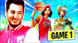 GAME #1 TOURNOI AVEC LES MANE