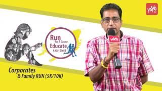 5K Run & 10K Run To Educate Girl Child Run For A Cause 22/01/2017 Sunday Hyderabad   YOYO TV