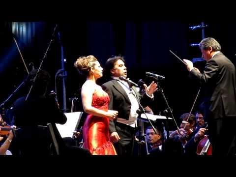 """The Famous Tenor Tito Beltran & Soprano Patricia Cifuentes Singing """"Un di Felice"""" (La Traviata)"""