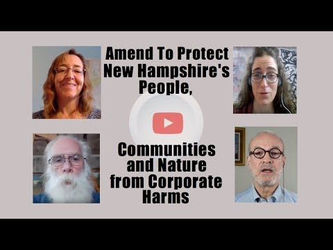 Amend To Protect New Hampshire's People, Communities and Nature from Corporate Harm