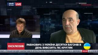 Перепалка Гончаренко и Рабиновича