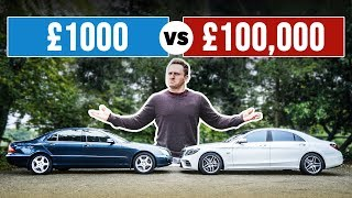 £1000 Luxury Car VS £100,000 Luxury Car!
