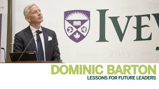Thumbnail Focus on Leadership with Dominic Barton