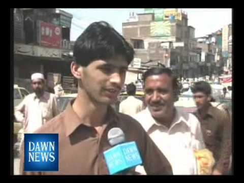 Pakistan-Renaming of NWFP New Name announced by ANP.Reporting Nisar Ahmad Khan DAWN NEWS.