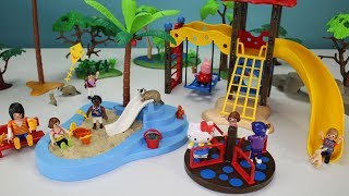 Playmobil Children's Playground Park Playset Build and Play - Fun Toys For Kids