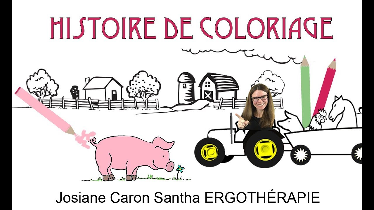 Coloriage Une Histoire Pour Apprendre A Colorier Dans Les Lignes