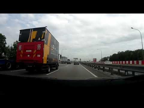trip from KLIA TO Port Klang   perjalanan balik dari KLIA ke port klang