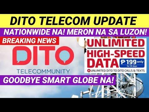 DITO TELECOMMUNITY UPDATE NATIONWIDE NA!