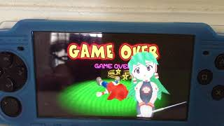 All Ape Escape: On the Loose Game Over Screens