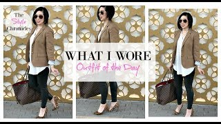 Faux Leather Leggings & Leopard Heels   The Style Chronicles