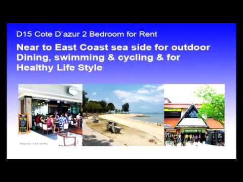 D15 Cote D'azur 2 Bedroom for RENT