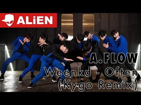 Often - Weeknd Kygo Remix A.FLOW | Choreography by Euanflow