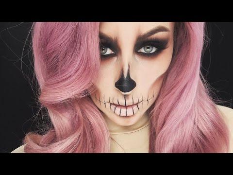 Easy Skull Makeup Tutorial- CHRISSPY