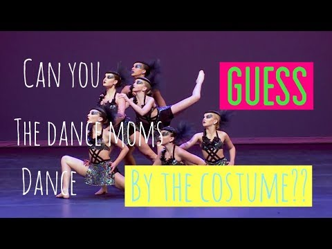 Can You Guess The Dance Moms Dance By Its Costume?