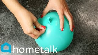 Balloon DIY | Wait until she pops the balloon for these party ideas! 😱 | Hometalk