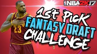 FANTASY DRAFT 82-0 CHALLENGE! NBA 2K17 My League