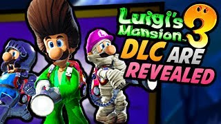 LUIGI'S MANSION 3 JUST GOT BETTER! - New DLC Multiplayer (Costumes, Scarescraper Themes, Minigames)