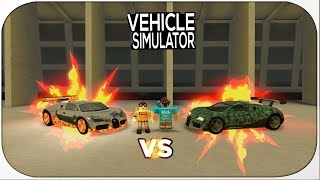 VEHICLE SIMULATOR INTEL VS LOCUS!! | Roblox
