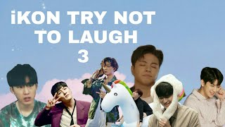 iKON TRY NOT TO LAUGH 3|| junhoellydays