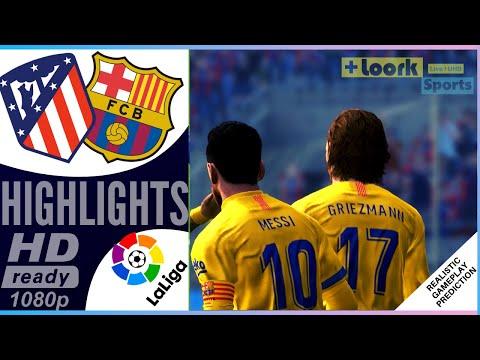 Atletico Madrid vs Barcelona | Resumen | Highlights