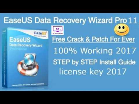 easeus data recovery wizard 11.8 + license key code