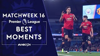 Best moments from Matchweek 16 | Premier League | NBC Sports Video