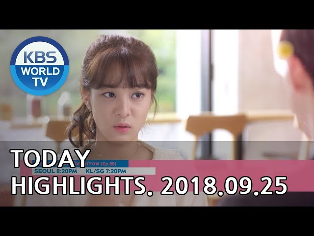 Today Highlights-Love To The End E35/Sunny Again Tomorrow E88/Lovely Horribly E25-26[2018.09.25]