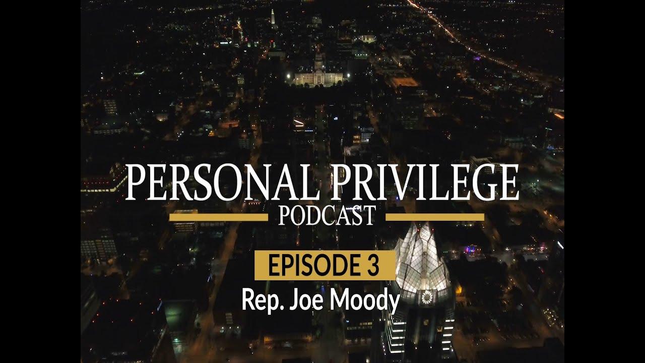 Personal Privilege - Rep. Joe Moody