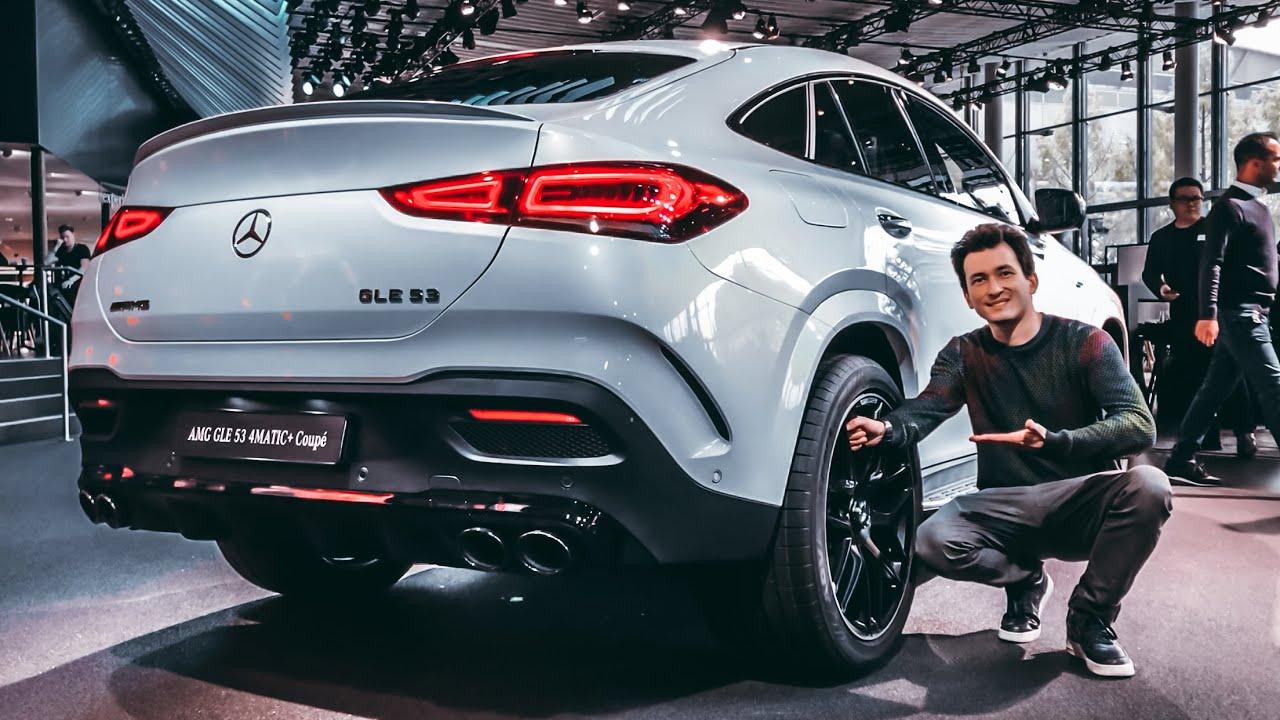 НОВЫЙ GLE COUPE! Что же ТЕПЕРЬ делать BMW X6?! Первый обзор. Mercedes-AMG GLE 53 Coupe. 435 л.с.