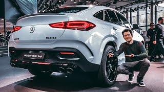Первый обзор Mercedes-AMG GLE 53 Coupe 2019