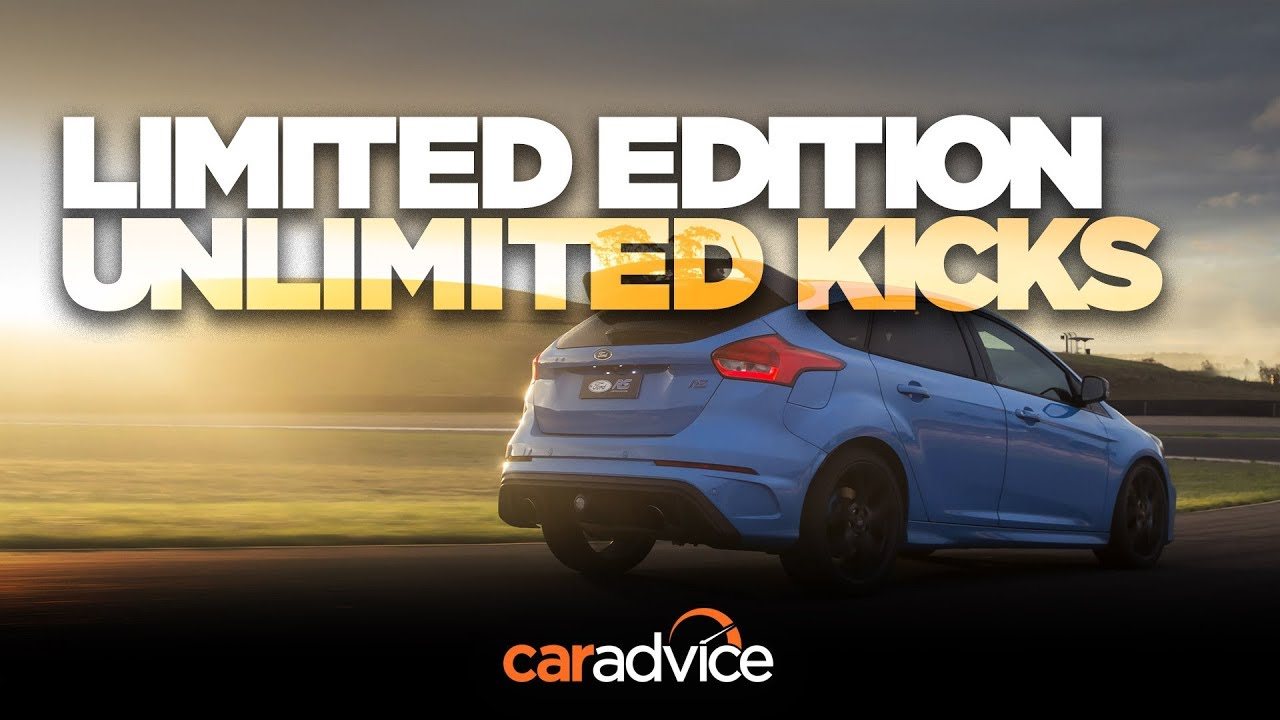 2018 Ford Focus RS Limited Edition road and track drive - Dauer: 5 Minuten, 44 Sekunden