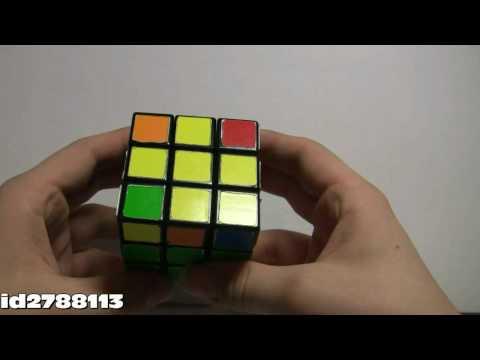 Как собрать Кубик Рубика 3х3 (Верхняя шапка \ OLL) 3\4