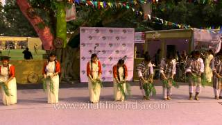 """Chu-Faat Lepcha Dance"" from Sikkim at North East Fest"