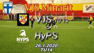VJS Minarit TU14 VJS TU13 vs HyPS 06/07 26.1.2020