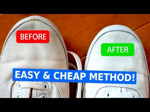 How to Clean White Shoes So They Look Brand New (Easy and Cheap)