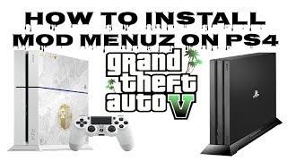 How to Install GTA5 ( Lamance ) Mod Menu on PS4 5.05 HEN Xploit No PC (2019)