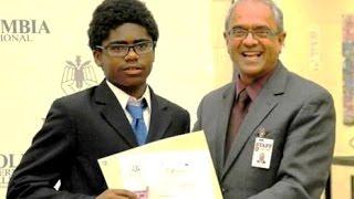 Junior Middle School Graduation | Vote of Thanks