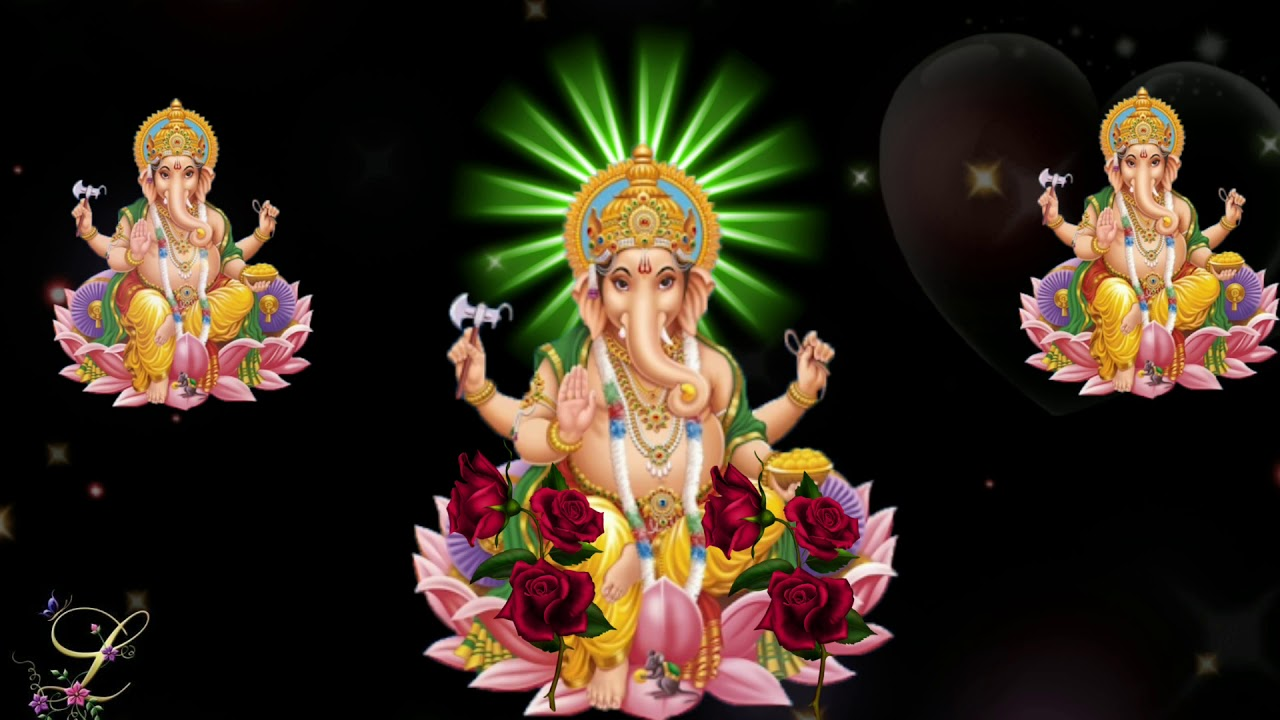 Good Morning Happy Wednesday Lord Ganesh Special Hd Animation Whatsup Status Youtube
