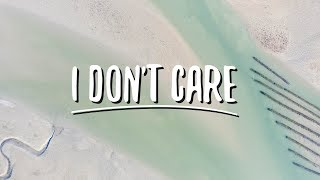 Ed Sheeran & Justin Bieber - I Don't Care (Lyrics)