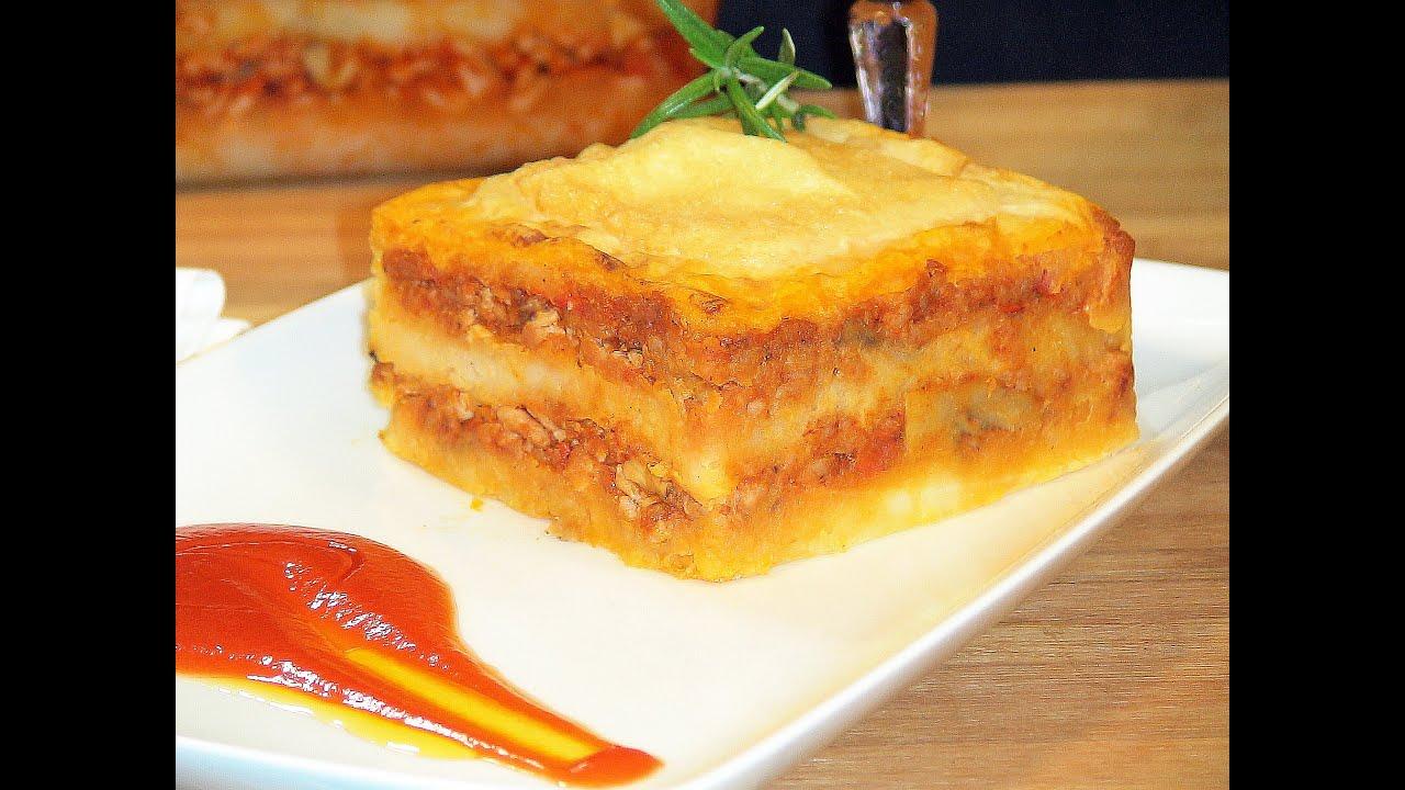 Receta Pastel de carne - Recetas de cocina, paso a paso, tutorial. Loli Domínguez