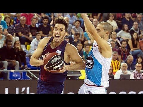 RESUMEN | Un Barça Lassa imparable no tiene piedad de Monbus Obradoiro