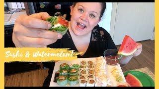 White Dragon Roll Sushi Mukbang | New Apartment Updates
