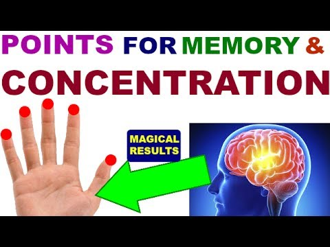 Acupressure Points For Memory And Concentration||Sujok Therapy For Memory||Concentration||Brain