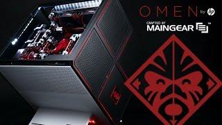 الإعلان رسميا عن حاسب الألعاب المكتبي HP Omen X مع تصميم فريد من نوعه - إلكتروني